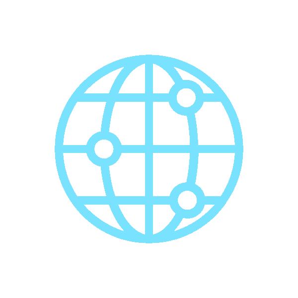 Strong international scientific network